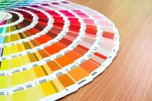 Painters Color Swatches